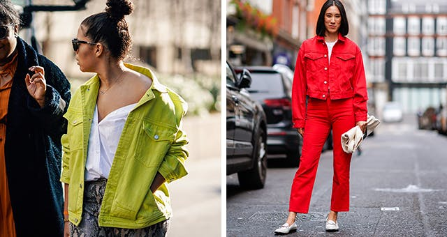 Colored Denim Is Trending, and It's So Much Chicer Than the 2013 Version