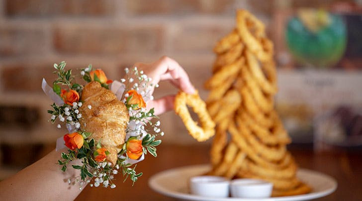PSA: Croissant Corsages Are Trending (What a Time to Be Alive...)