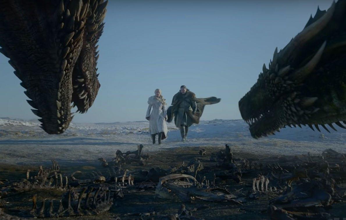 dany jon dragons trailer game of thrones1