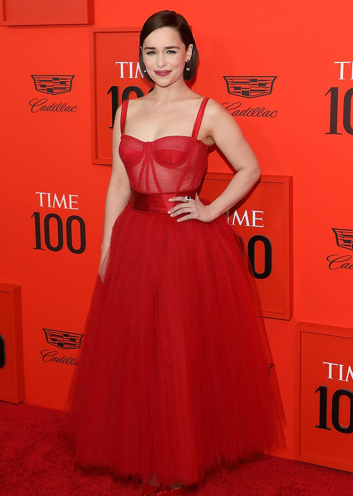 Emilia Clarke Looked Fierce as Hell at the Time 100 Gala