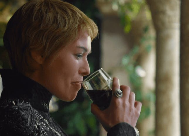 game of thrones cersei wine