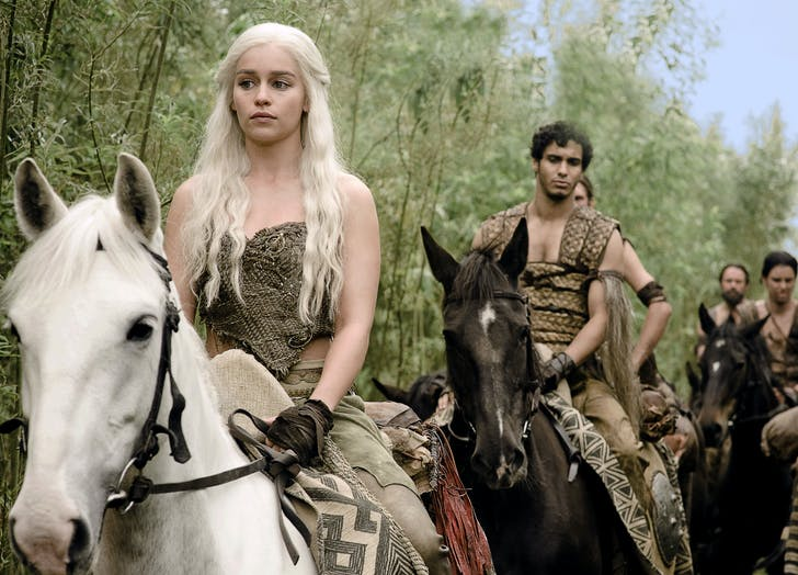 game of thrones dany on a horse1