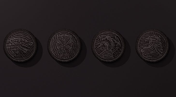 Winter Might Be Coming, but 'Game of Thrones' Oreos Are Already Here