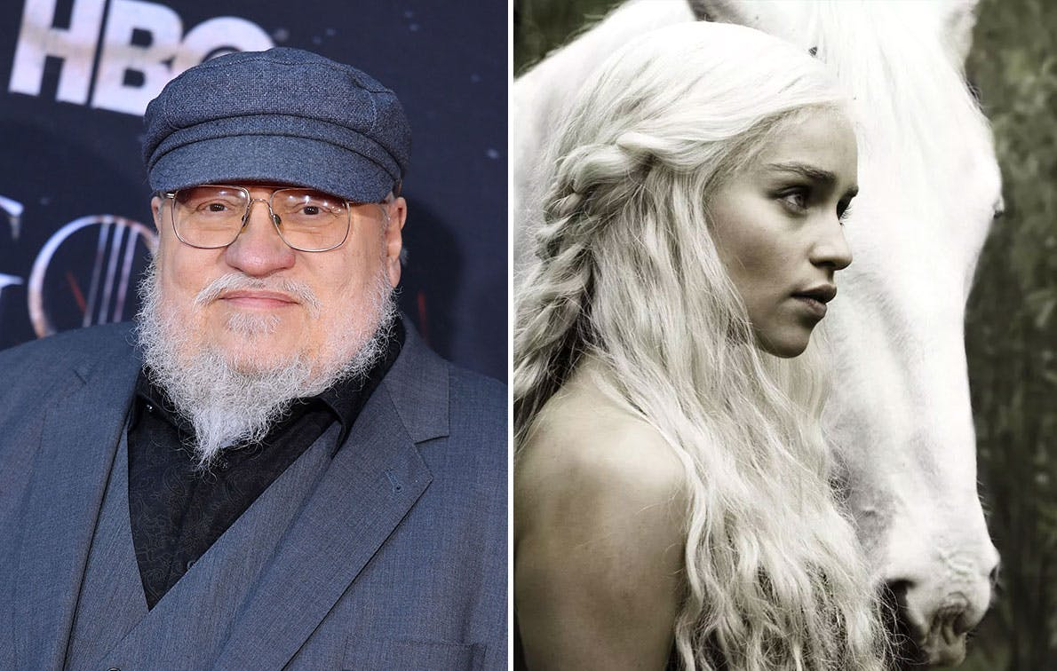Drogon, Who? George R.R. Martin Accidentally Confirms the Final 'Game of Thrones' Books Will Have Unicorns