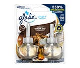 glade amber and oud scented plugin