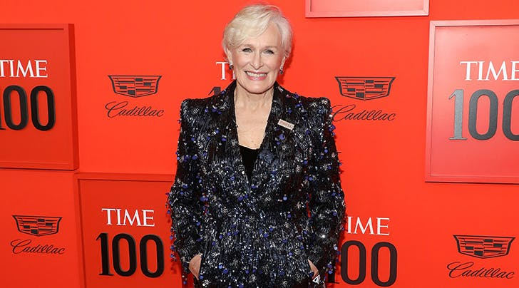 Glenn Close Was Dripping in Diamonds and Sapphires at the 'Time' 100 Gala