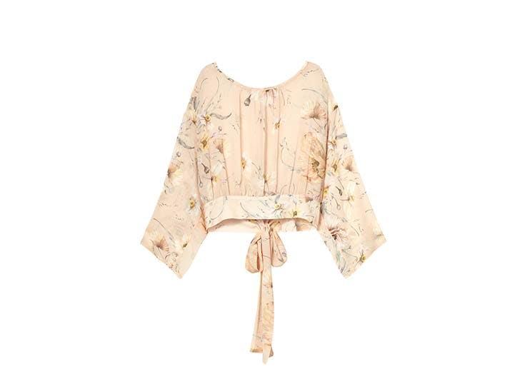 h m long sleeve blouse