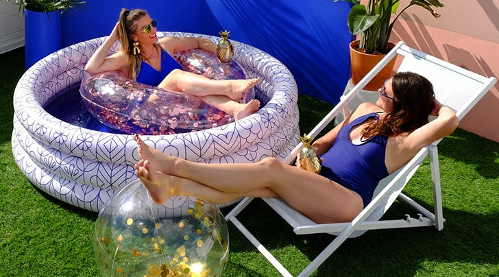 Call Your BFFs: Target Is Selling $40 Inflatable Pools That Comfortably Fit 3 Adults