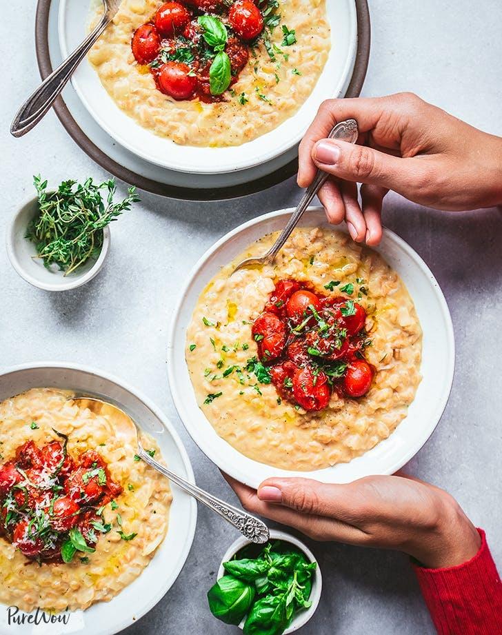 instant pot vegan faro risotto recipe1