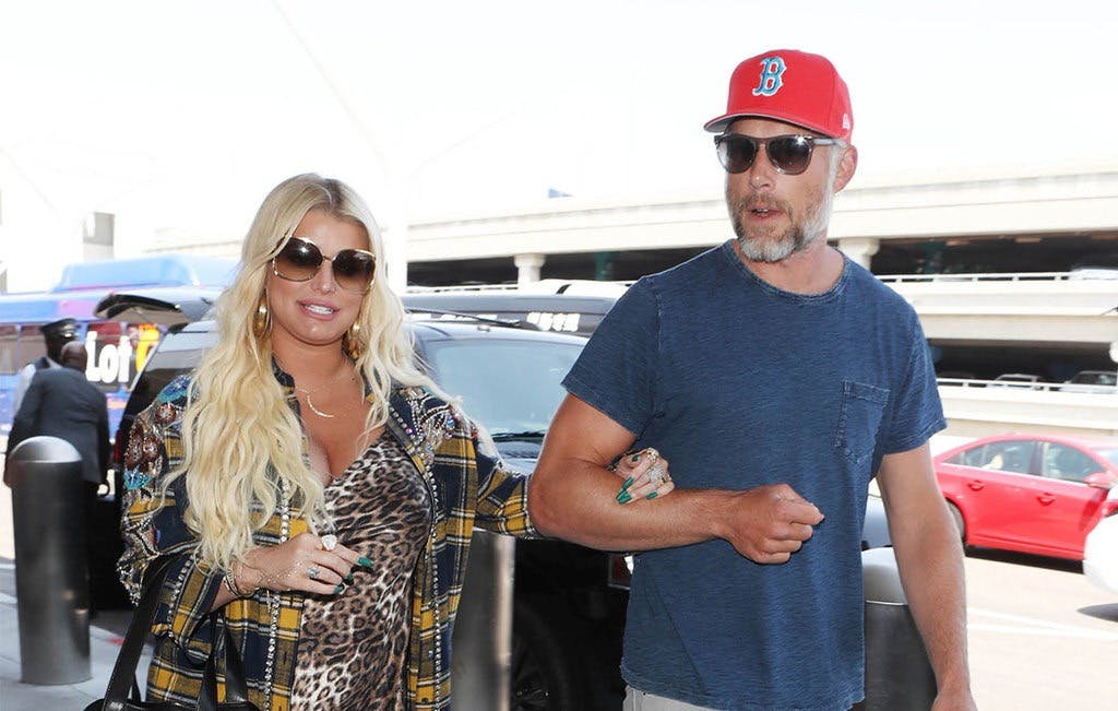 Jessica Simpson Posts Photos of Her Newborn Baby Girl, and We've Got One Word for You: Cheeks