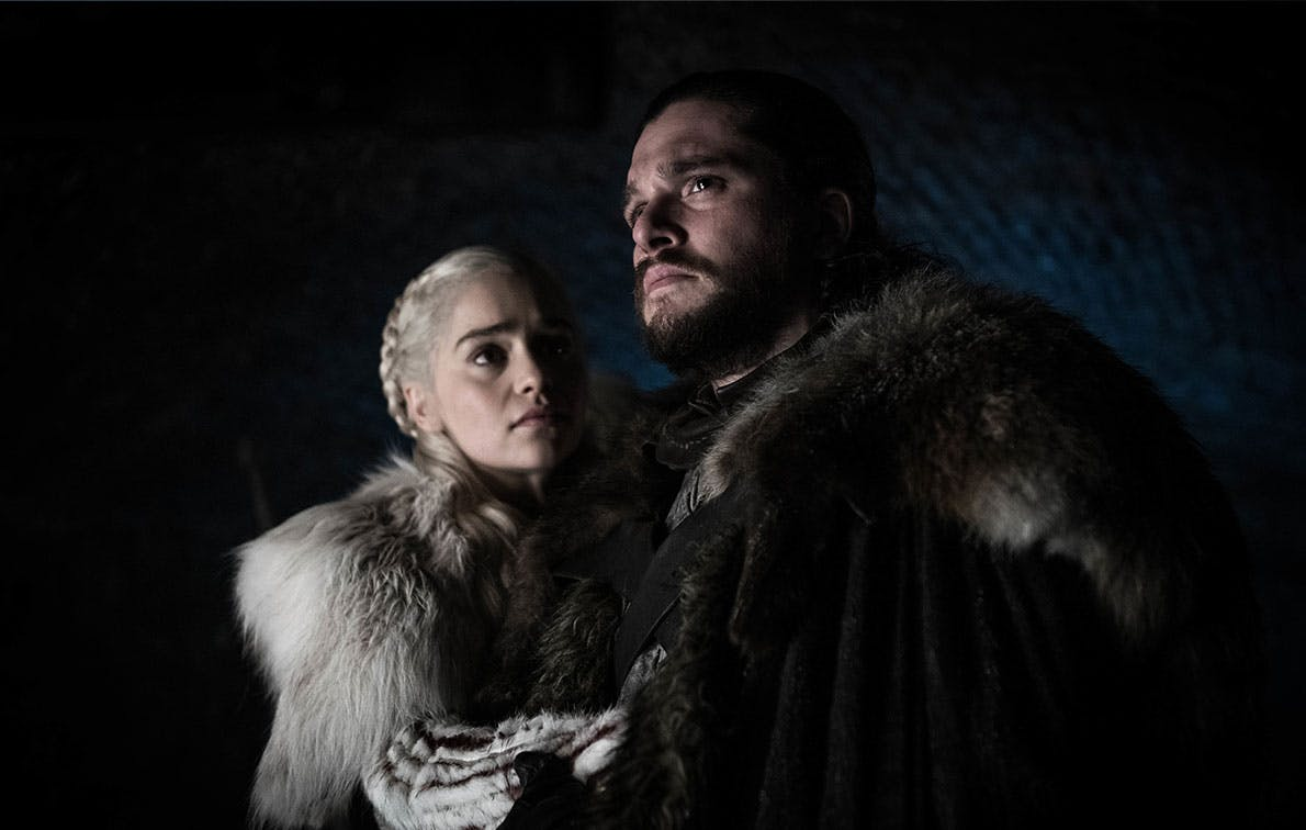 jon snow daenerys targaryen got episode 2