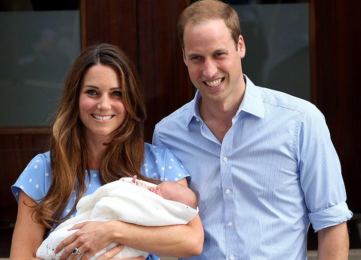 kate middleton welcomes prince george