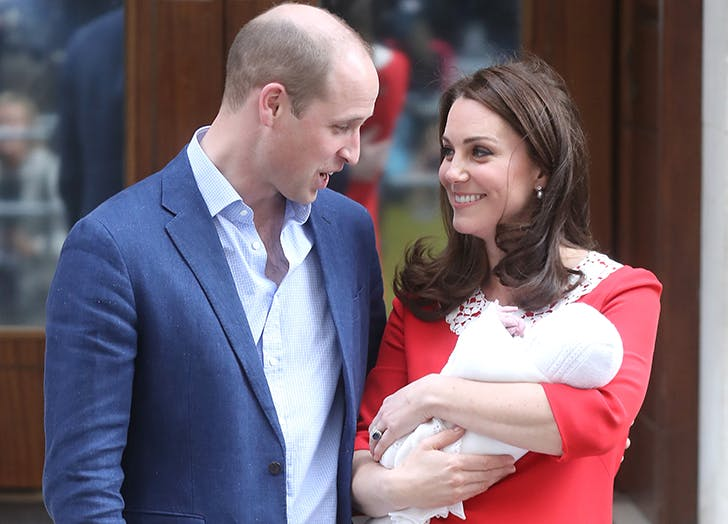 kate middleton welcomes prince louis