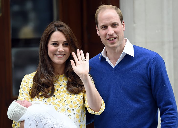 kate middleton welcomes princess charlotte