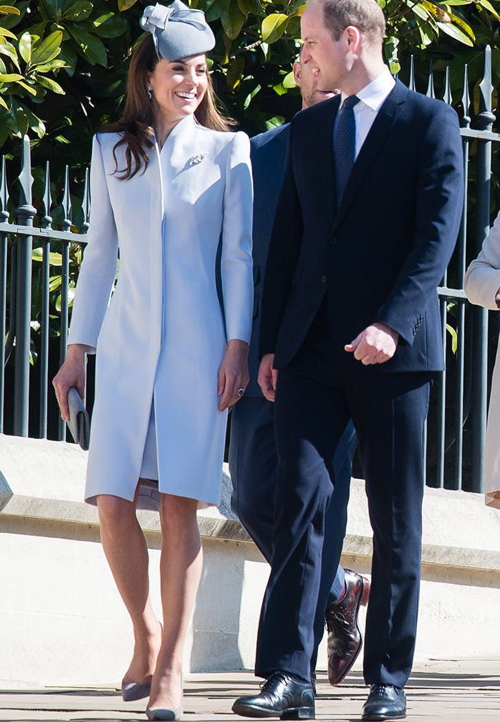 kate middleton easter outfit alexander mcqueen coat