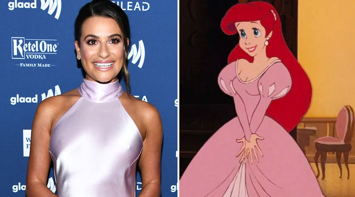 Hold On to Your Fins! Lea Michele to Star as Princess Ariel in Stage Version of Disney's 'The Little Mermaid'