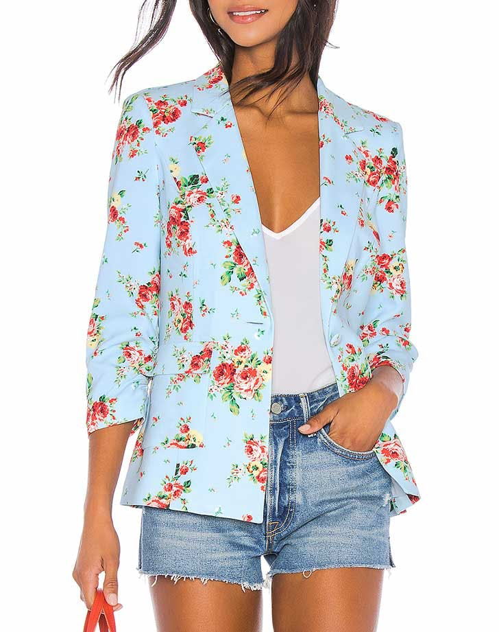 likely floral blazer