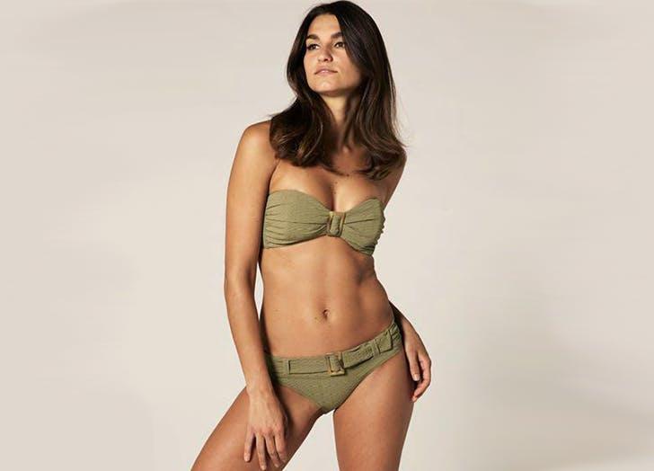 lisa marie fernandez bikini with belt