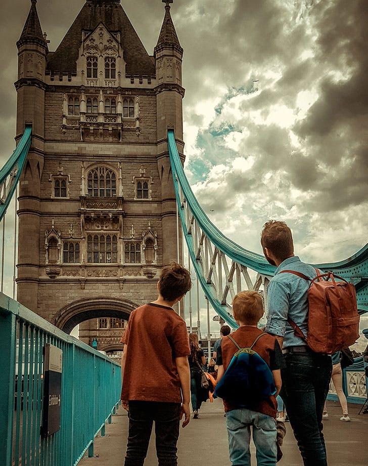 london england kid friendly vacation