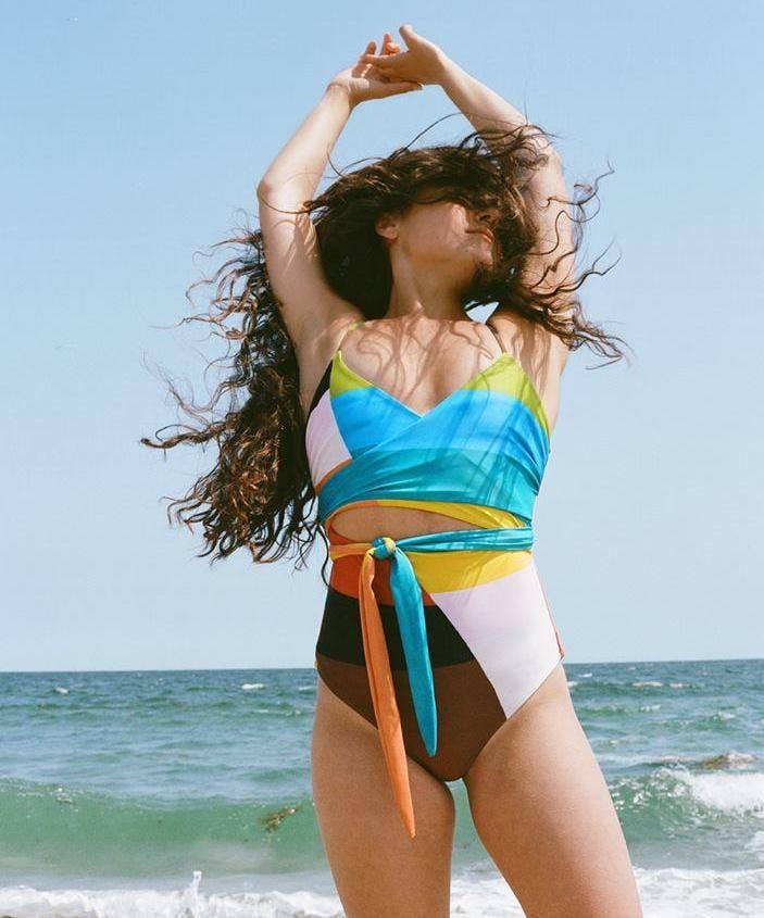 mara hoffman sustainable swimwear