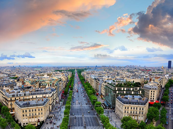 most beautiful places in the world champs elysees france
