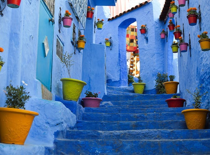 most beautiful places in the world chefchaouen morocco