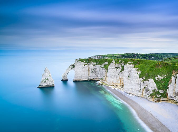 most beautiful places in the world cliffs of etretat france