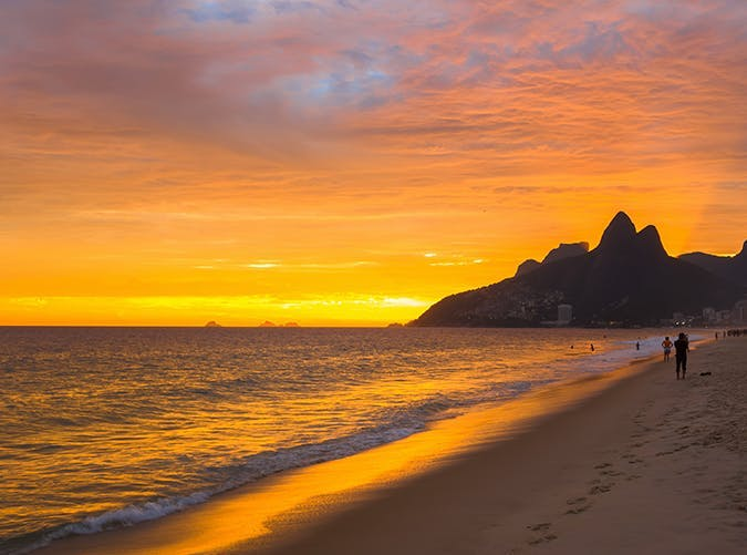 most beautiful places in the world ipanema beach brazil
