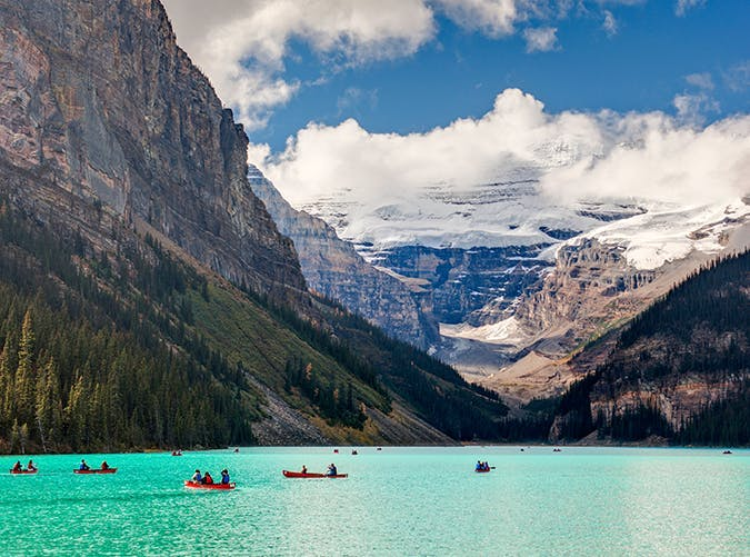 most beautiful places in the world lake louise