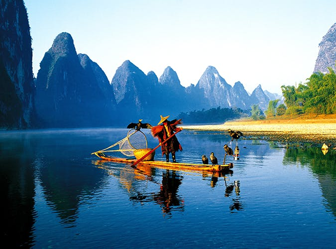 most beautiful places in the world li river china