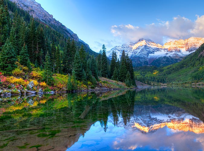 most beautiful places in the world maroon bells colorado