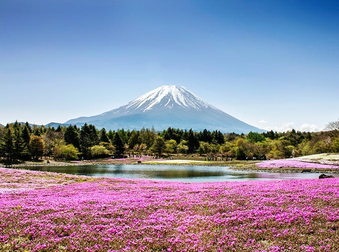 most beautiful places in the world mt fuji japan