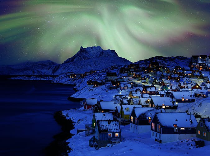 most beautiful places in the world nuuk greenland