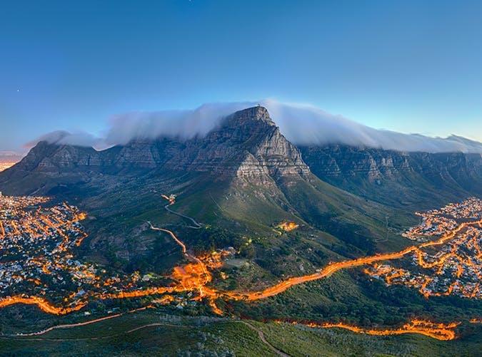 Өмнөд Африк. Тэйбл уул