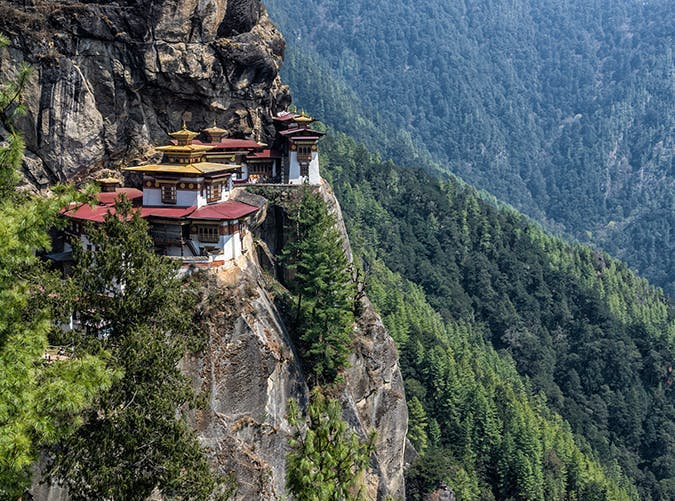most beautiful places in the world tigers nest bhutan