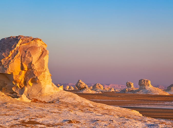 most beautiful places in the world white desert egypt