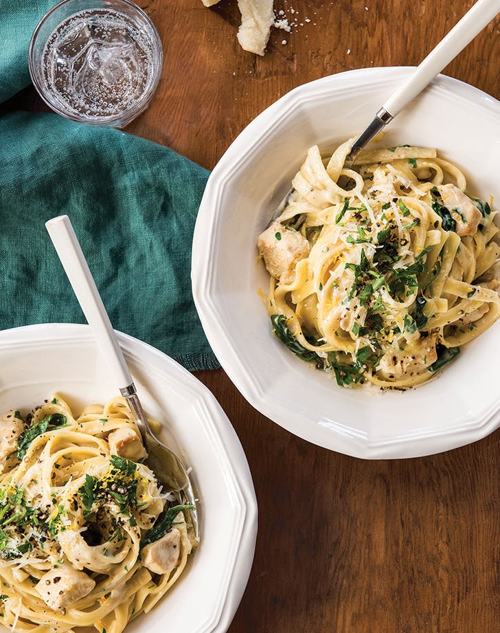 One-Pot Creamy Chicken Alfredo