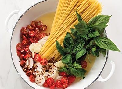 one pot tomato basil pasta recipe 290