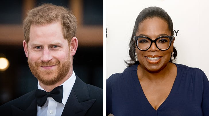Prince Harry & Oprah Are Teaming Up to Create a New Docuseries About Mental Health