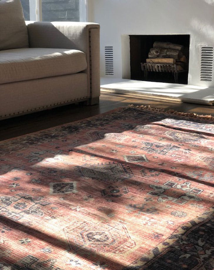 oriental faded rug 728