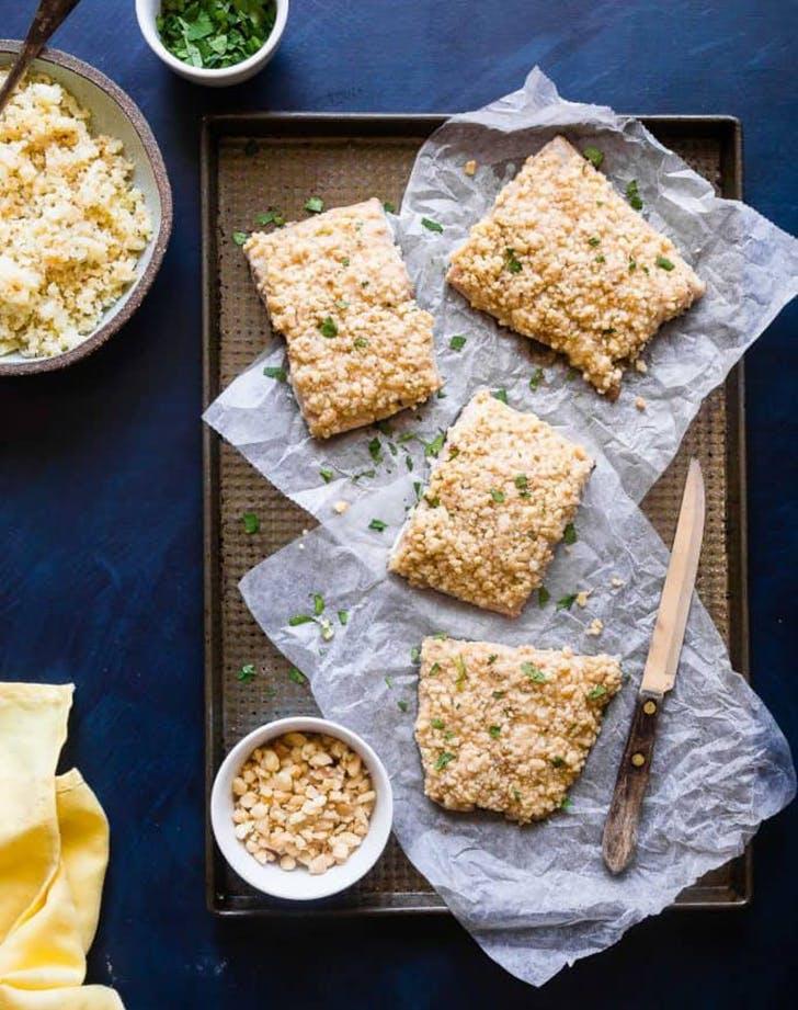 oven baked mahi mahi macadamia crust recipe