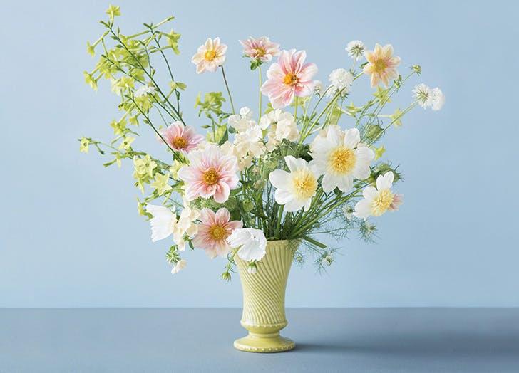 plover flowers buttercream cutting garden bouquet