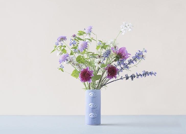 plover flowers ice blue cutting garden bouquet
