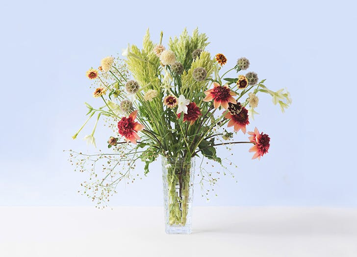 plover flowers victorian christmas cutting garden bouquet