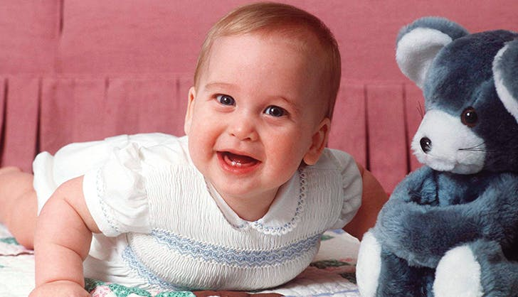prince william baby portrait