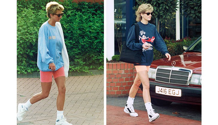 princess diana bike shorts hero