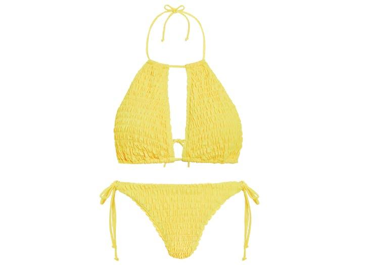 quiz yellow bikini