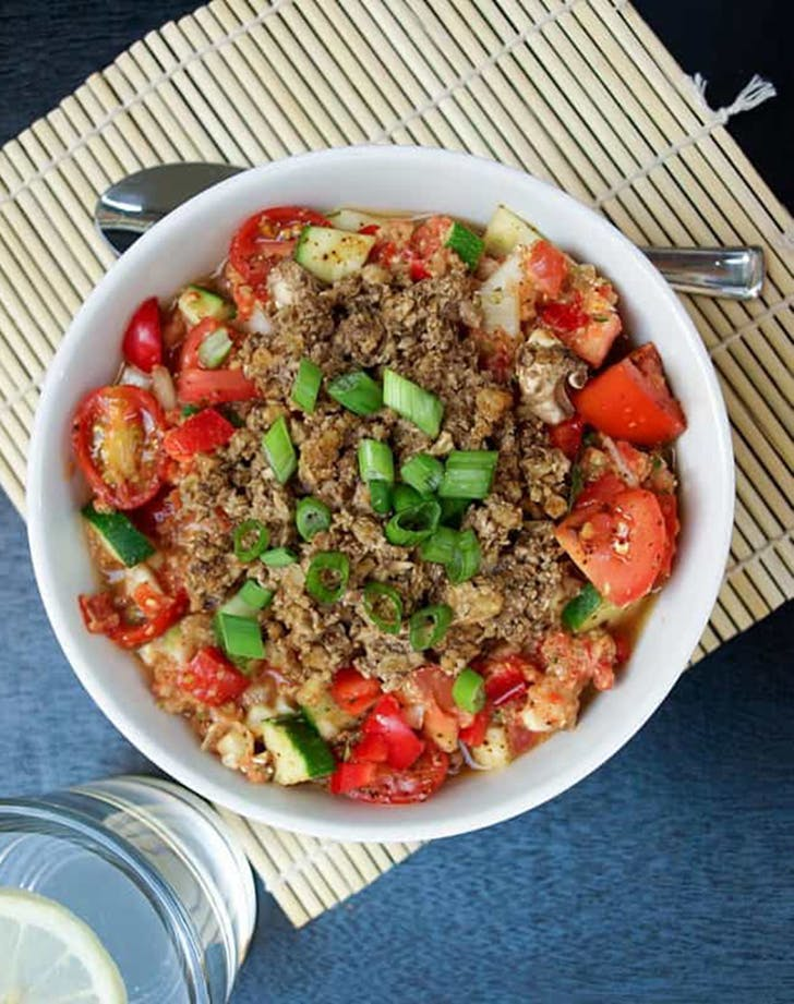 raw veggie chili recipe