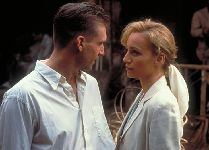 romantic movies the English Patient