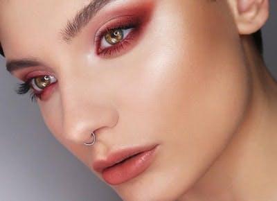 rosy nude makeup trend1